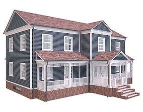 3D asset House 2