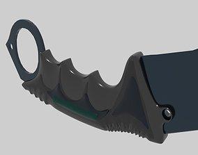 karambit 3D print model