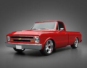 1968 Chevrolet Truck 3D model