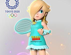 Rosalina - Olympic Tokyo 2020 3D print model