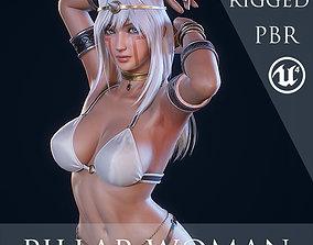 Ancient Tribal Goddess - Game Ready 3D model