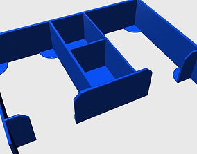 3D printable model Inside box for Dungeon Raiders