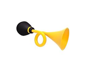 3D model Horn clown cartoon circus