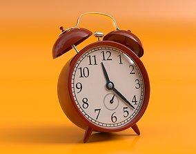 Old Retro Alarm Clock - Cinema 4D Octane Render 3D model