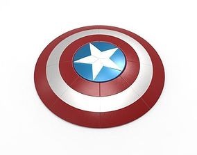 Captain America Shield 3D print model