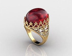 Antique Ring 3D printable model