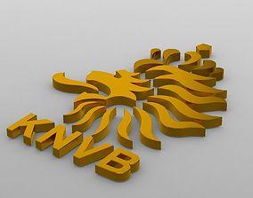 3D model holland logo