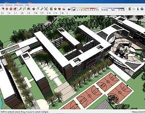 3D model Sketchup school G4