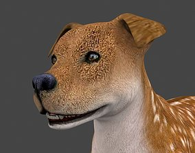 MPIT-002 Animated Dog 3D model