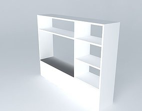 storage shelves Habitat shelving 3D