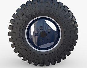 Range Rover Classic Wheel Maxxis Trepador 3D model