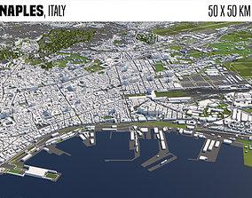 Naples Italy 3D