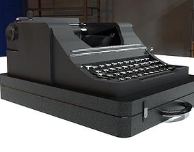Typewriter 3D model realtime