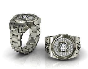 3D print model Rolex Ring No 01