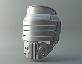 Darth Vindican mask - Star Wars 3D print model