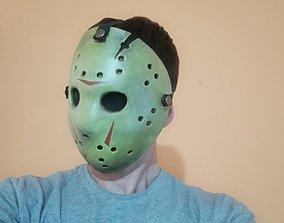 Jason Voorhes mask 3D print model monster
