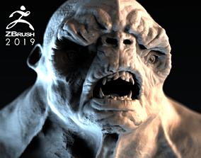 3D model Troll Bust