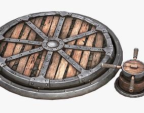3D asset realtime Rotating Platform
