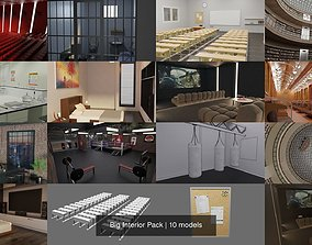 Big Interior Pack 3D model