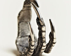 3D print model Claws ring