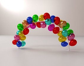 Balloon Arch 3D