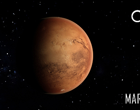 PLANET---MARS 8K 3D asset