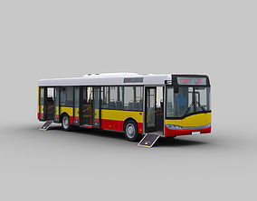 3D asset Solaris Urbino 12 with Interior