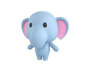Character036 Elephant 3D model