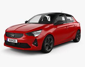3D Opel Corsa 2020