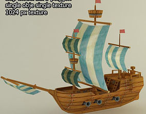 3D asset Ship
