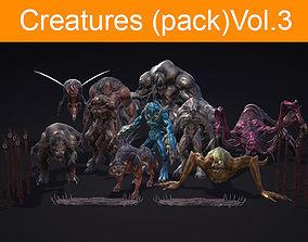 3D model Creatures pack Vol 3