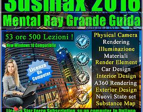 Corso 3ds max 2016 Mental Ray Grande Guida