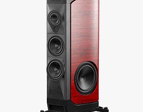 the Sonus faber Red 3D model
