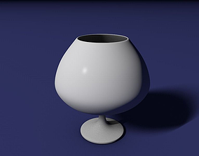 3D print model Brandy glass