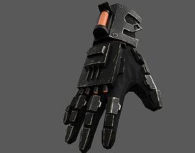 Scifi Gloves ver13 3D model