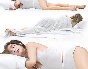 Sleeping Girl Sasha 3D