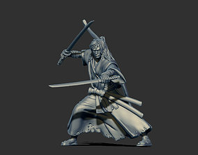 3D printable model saga Ronin Gosai - 35mm scale
