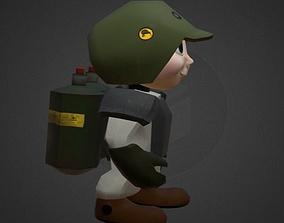 Game Character Alex 3D asset