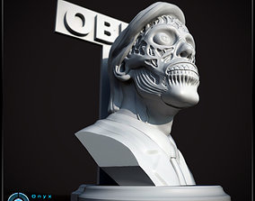 They Live Bust Pose 2 - 3D printable model
