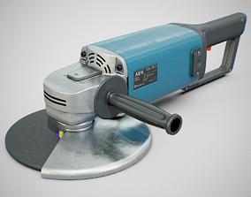 3D model Angle Grinder - AEG WSA 1780S Clean