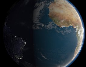 Earth 10k 3D asset