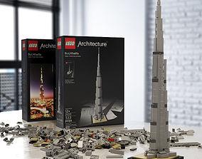 3D LEGO Architecture Burj Khalifa 6141908
