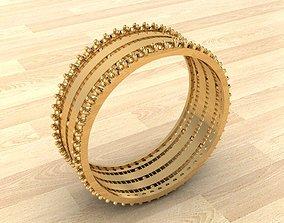 bracelete 3D print model Ring 230
