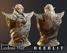 mythological-creature Deedlit Bust - 3D print model