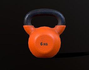 Kettlebell 6 kg 3D model
