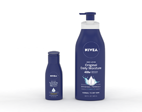 Nivea Body Lotion 3D