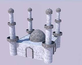 Mongol Architectural Design of Tomb 3D