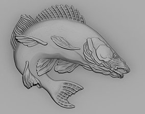 3D print model pike perch