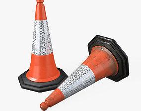 Traffic Cone 3D environment