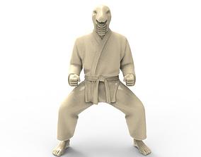 3D print model Snake Kiba Dachi Stance